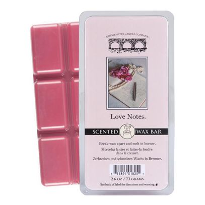Wosk zapachowy Scented Wax Bar Love Notes Bridgewater Candle