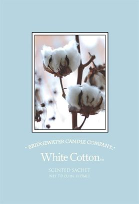 Saszetka zapachowa Scented White Cotton  Bridgewater