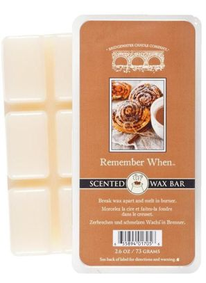 Wosk zapachowy Scented Wax Bar Remember When Bridgewater Candle